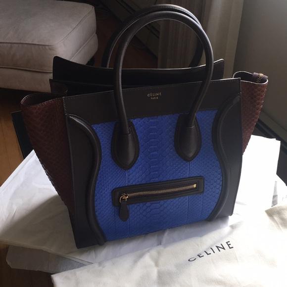 100% Authentic Céline Mini Luggage. NWT f38fad6376a11
